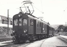 Train From Wohlen At Fahrwangen/Meisterschwanden ? Photo 14 X 10 Cm. No Postcard. - AG Argovie