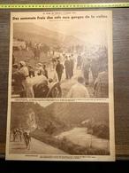 1932 1933 M CYCLISME COL DE PORT CACCIONI SCHEPERS GORGES DE L ARAC - Documentos Antiguos