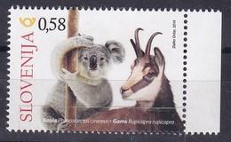 Slovenia Slowenien Slovenie: 2019 Mint MNH **; Fauna Koala; Gams; Wild Goat; - Stamps