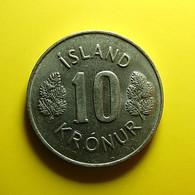 Iceland 10 Kronur 1980 - Island