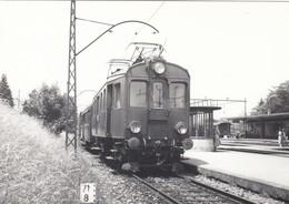 Train At Station Wohlen ? Photo 14 X 10 Cm. No Postcard. - AG Argovie