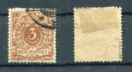Deutsches Reich Michel-Nr. 45d Gestempelt - Geprüft - Deutschland