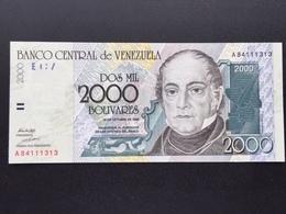 VENEZUELA P83 2000 BOLIVARES 29.10.1998 UNC - Venezuela