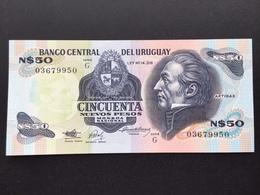 URUGUAY P61A 50 NUEVO PESO 1978 UNC - Uruguay
