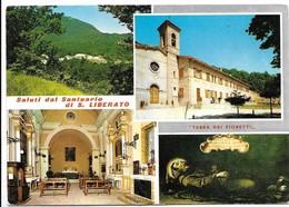 Saluti Da Santuario Di San Liberato (Macerata). Vedutine. - Macerata