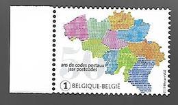 Belg 2019 - COB N° 4857 ** - 50 Ans D'introduction Des Codes Postaux - België