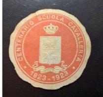 ERINNOFILI VIGNETTE CINDERELLA - CENTENARIO SCUOLA CAVALLERIA 1923 - Erinnofilia