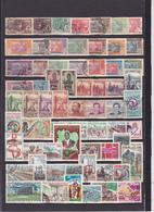 UN LOT DE 107 TIMBRES OBLITERES DEPUIS 1892 ET APRES INDEPENDANCE - Used Stamps