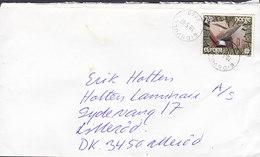 Norway EIDSVOLL 1987 Cover Brief Lillerød ALLERØD Denmark Europa CEPT Stamp - Briefe U. Dokumente