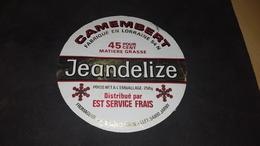 Etiquette De Fromage Jeandelize - Cheese