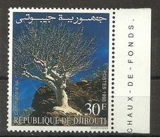 DJIBOUTI  1990  MYRRH  TREE MNH - Gibuti (1977-...)