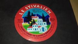 Etiquette De Fromage  Le Stivalien - Cheese