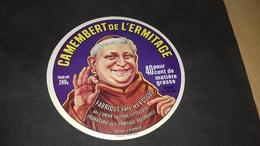 Etiquette De Fromage  Camenbert De L Ermitage - Cheese