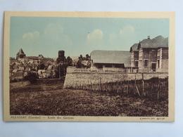 C. P. A. Couleur : 19 ALLASSAC : Ecole Des Garçons - Autres Communes