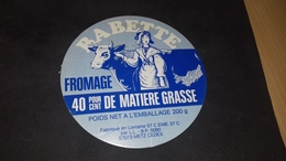 Etiquette De Fromage  Babette - Cheese