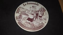 Etiquette De Fromage Camenbert La Farandole - Cheese