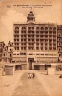 Blankenberge -  Continental Palace Hôtel Zicht Op Zee (animation, Edit G Loos 1933) - Blankenberge