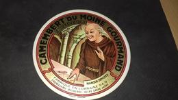 Etiquette De Fromage Camenbert Du Moine Gourmand - Cheese