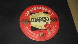 Etiquette De Fromage Camenbert Marco - Cheese