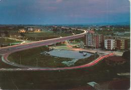 BOLOGNA - RACCORDO AUTOSTRADALE E TANGENZIALE - NOTTURNO - VIAGGIATA 1974 - Bologna