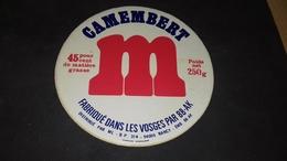 Etiquette De Fromage Camenbert M - Cheese