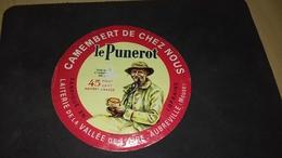 Etiquette De Fromage Le Punerot - Cheese