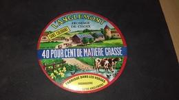 Etiquette De Fromage L Anglemont - Cheese