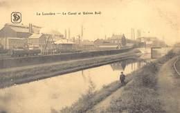 La Louvière  Le Canal Et Usines Boël      M 1432 - La Louvière