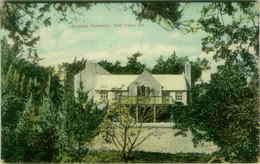 BERMUDA RESIDENCE 200 YEARS OLD POSTMARK PASSED CENSOR BERMUDA - 1920s (BG5126) - Bermuda