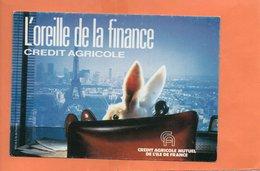 BANQUE.CREDIT AGRICOLE. PUBLICITE 1987.LAPIN.achat Immédiat - Bancos