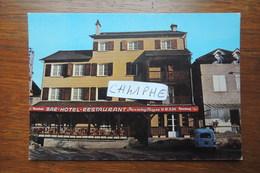 BEAULIEU SUR DORDOGNE  - BAR HOTEL RESTAURANT CHASSEING FARGES - PLACE DU CHAMP DE MARS - France