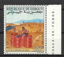 DJIBOUTI  1990 WATER CONSERVATION MNH - Gibuti (1977-...)