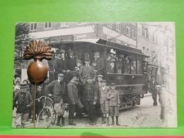 Longwy, Le Tramway. Très Rare !!!! Éd. V. Kremer - Longwy