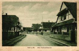 CPA AK Kehl Alte Fachwerkbauten GERMANY (936194) - Kehl