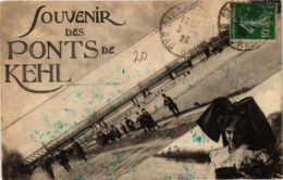 CPA AK Souvenir Des Ponts De Kehl GERMANY (936207) - Kehl