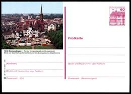 73043) BRD - P 138 - P9/130 - * Ungebraucht - 7830 Emmendingen, Markgrafenschloß, Evangelische Stadtkirche - [7] Federal Republic