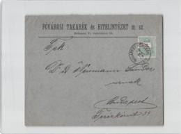 12237 HUNGARY BUDAPEST FOVAROSI TAKAREK ES HITELINTEZET - 1928 - Hungary