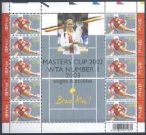 Belgium**TENNIS-KIM CLIJSTERS-SHEET 10stamps-2003-MNH-GRAND SLAM WINNER - Ongebruikt