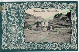 ISIGNY SUR MER PONT SUR L'AURE CARTE GAUFREE - Autres Communes