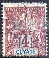 GUYANE                         N° 32                    OBLITERE - Usados