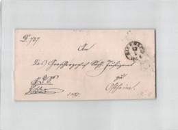 12240  DEUTSCHLAND GERMANY EISENACH -1868 WITHOUT TEXT - Allemagne