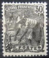 GUYANE                         N° 57                    NEUF* - Französisch-Guayana (1886-1949)