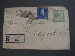 Serbien Karte 1911 Valjevo - Serbia