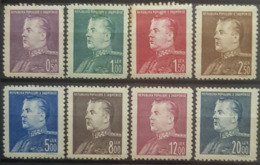 ALBANIA 1949 - MNH - Mi 467-474 - Complete Set! - Enver Hoxha - Albania