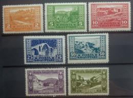 ALBANIA 1923 - MNH - Sc 147-153, Mi 83-89 - Complete Set! - Albania