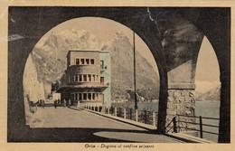 ORIA-COMO-DOGANA AL CONFINE SVIZZERO-CARTOLINA VIAGGIATA IL 14-8-1949 - Como
