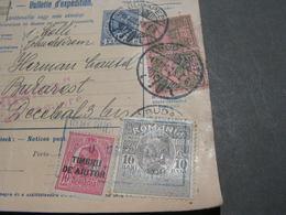 Paketkarte Ungarn - Debrezin Mit Nachporto  ?  1928 - Briefe U. Dokumente