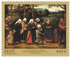 Estonia Estland Estonie 2019 (25) Estonian Art Museum - Pieter Brueghel - Painting - Estland