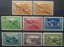 ALBANIA 1925 - MLH - Sc# 178-185, Mi 118-125 - Republika Shqiptare - Albania