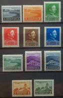 ALBANIA 1930 - MLH - Sc# 250-260, Mi 217-227 - Complete Set! - Albania